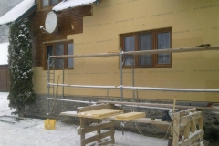 sistem de termoizolare din fibre de lemn