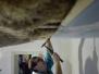 Termoizolarea plafonului cu saltele de cânepă